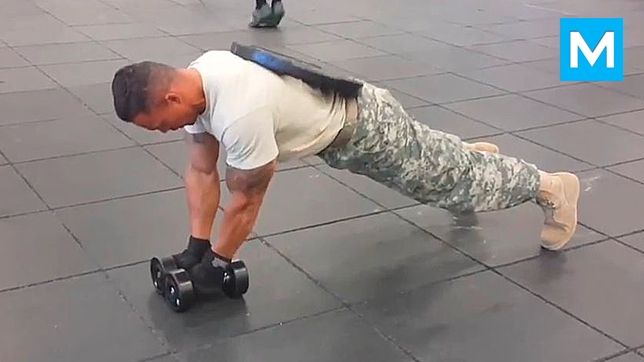 Super Soldier Extreme Army Workout | Muscle Madness