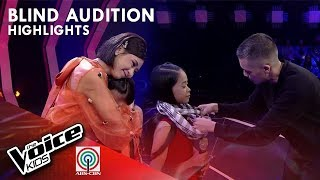 Voice Coaches, pinagaan ang loob ni Zandra | The Voice Kids Philippines 2019