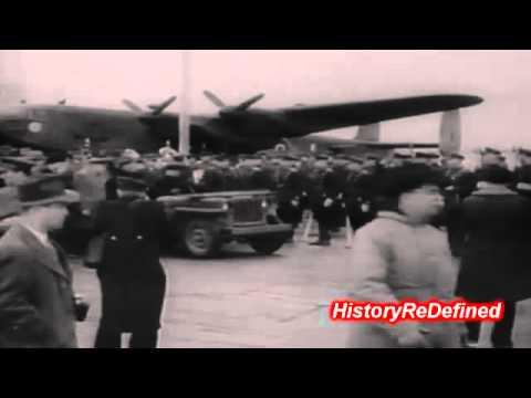 1945 Newsreel: The Yalta Conference begins
