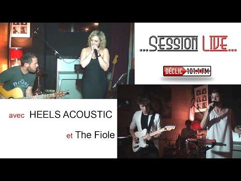Session Live avec Heels Acoustic et The Fiole au Barok à Portes les Valence 21 04 2017