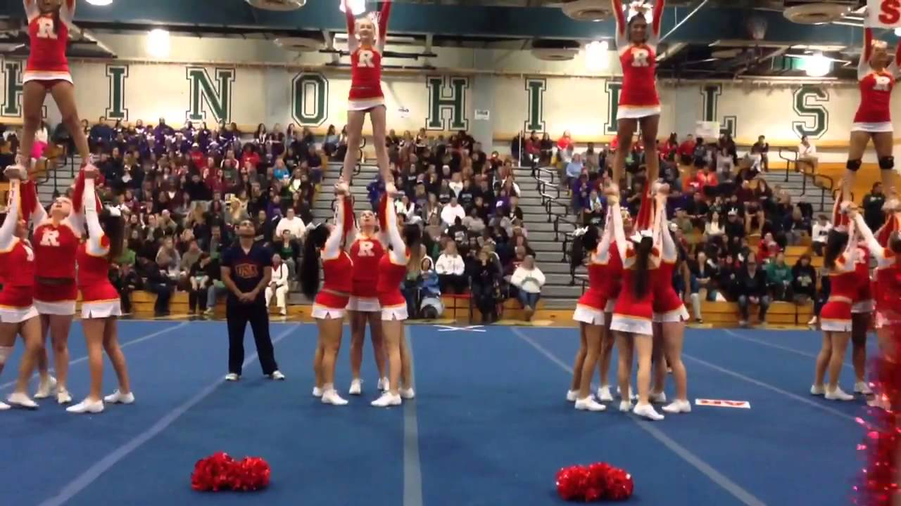 Rosary High School JV Cheer 2013-14 - YouTube
