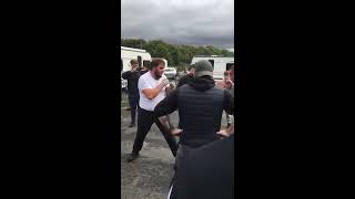 Fair Fight Until Weapons Was Used