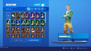 Fortnite Locker ShowCase/Code Name Elf/S2 skins #Fortnite #FeaRSwaevy #LockerShowcase #CodeNameElf