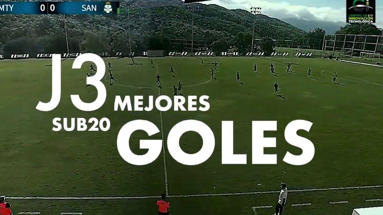 Mejores Goles | Sub-20 | Guard1anes 2020 | Liga BBVA MX | Jornada 3