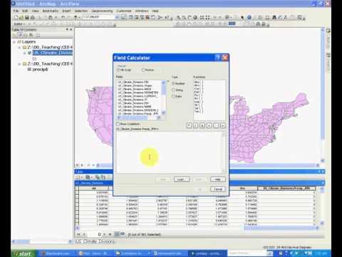 Lab 7-3 Field Calculator to Compute Attributes