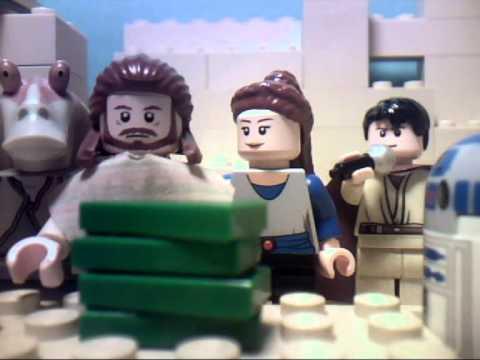 "Lego Star Wars ""The Saga Begins"""