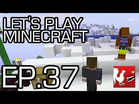 Let's Play Minecraft - Episode 37 - Clouds | Rooster Teeth
