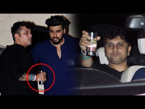 Drunk Mohit Suri parties with his Half Girlfriend team!