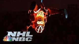 Gritty lights up Stadium Series with incredible entrance | NHL | NBC Sports