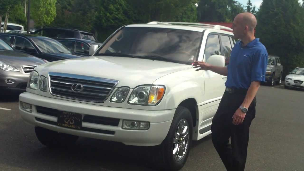 2003 Lexus LX470 Review  In 3 minutes you'll be an expert