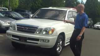 2003 Lexus LX470 Review - In 3 minutes you