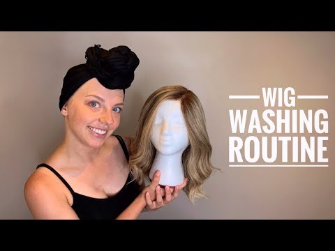 HOW TO WASH A HUMAN HAIR WIG  |  My Cancer Journey