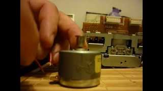 Broken capstan motor Pioneer ct-449