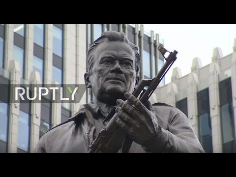 LIVE: Monument to AK-47 inventor is unveiled in Moscow