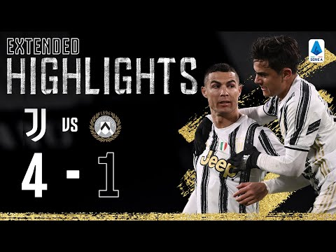 Juventus 4-1 Udinese   Clinical Finishing from CR7, Dybala & Chiesa!   EXTENDED Highlights
