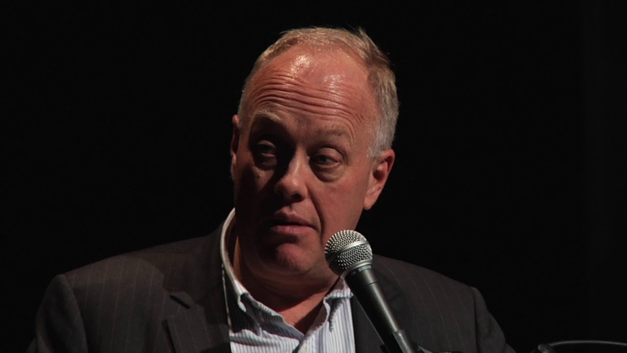 """Chris Hedges Q&A """"Fascism in the Age of Trump"""" - YouTube"""