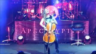 Apocalyptica - For Whom the Bell Tolls (Metallica cover) - Bogotá 19 de Noviembre 2017