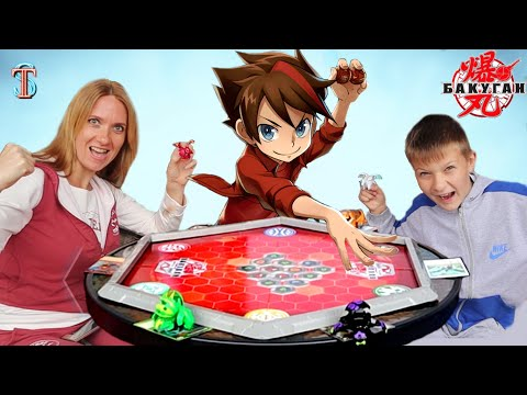 Bakugan BATTLE 🥊 What did Mom and Tim argue with? Cool toys Bakugan Battle Planet