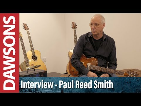 Interview with Paul Reed Smith & Paul Miles - Dawsons Music