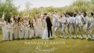 HANNAH & AARON | CINEMATIC WEDDING VIDEO | 2021
