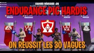 Fortnite PVE (Save the World) Endurance Pics-Hardis 30 Waves