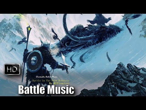 Epic Battle Music Orchestra   Battle In The Snow Mountain by 魔界Symphony   Copyright Free Music
