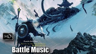 Epic Battle Music Orchestra | Battle In The Snow Mountain by 魔界Symphony | Copyright Free Music