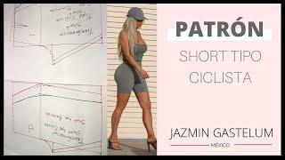 1df26fb43 Patrón Short Tipo Ciclista    Bike Shorts Pattern