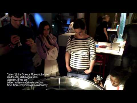 Science Museum Lates - August 2009 (HD Video)