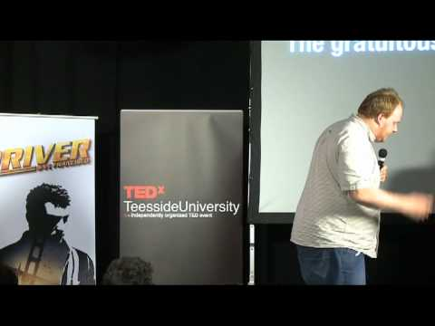 Research & creativity in the corporate media environment | Andy Dobson | TEDxTeessideUniversity 2011