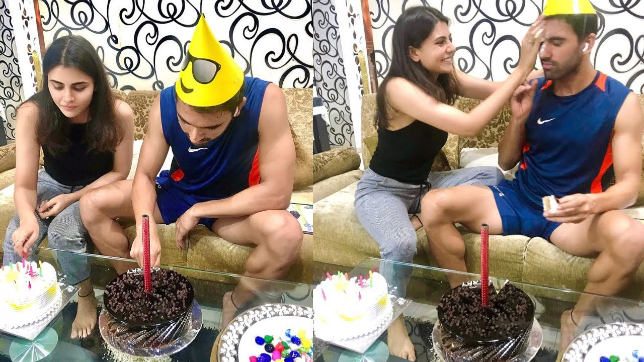 Watch CSK Pacer Deepak Chahar gets Cake facial on his birthday Ahead of IPL in UAE.
