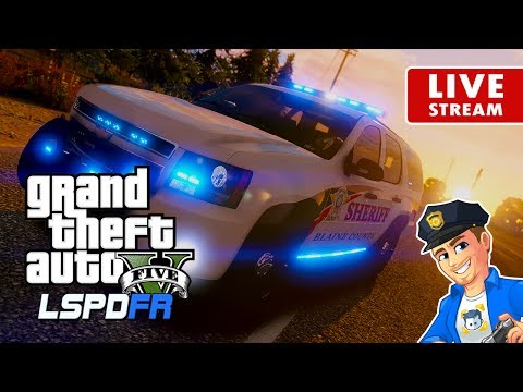 "GTA 5 LSPDFR LIVE - Deputy Sheriff Patrol | ""Cops"" Real Life Police Mod for GTA 5 PC 