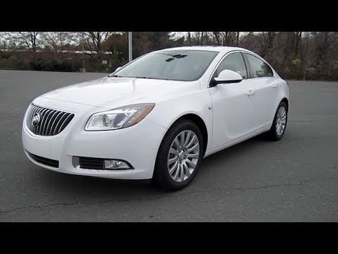 2011 Buick Regal CXL Turbo Start Up, Engine, In Depth Tour, and Test Drive
