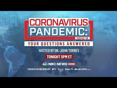 Coronavirus Pandemic: Your Questions Answered | NBC News NOW