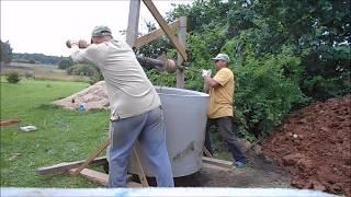 как сделать колодец в любом грунте методы постройки в ручную