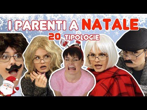👧🏻👩🏼I PARENTI A NATALE : 20 TIPOLOGIE 👨🏻👵🏻 | MARYNA