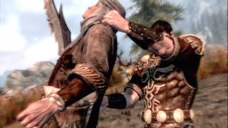 All Skyrim Kill Moves As Leonidas.