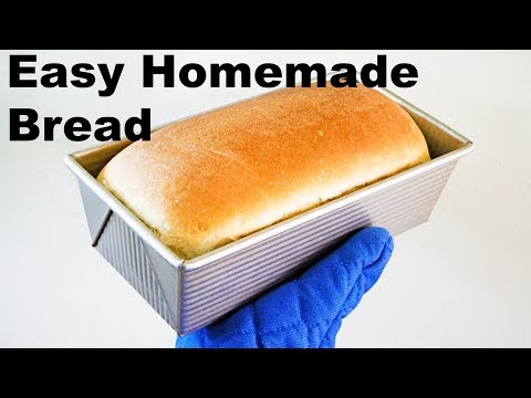 how-to-make-homemade-bread---easy-recipe