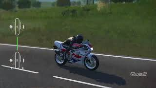 [RIDE 2]YAMAHA TZR 125R Nurburgring Nordschleife Full Circuit Gameplay(TV CAM)