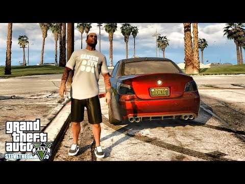 GTA 5 REAL LIFE CJ MOD #129 - LET'S GO TO THE BEACH!!!(GTA 5 REAL LIFE MODS) thumbnail