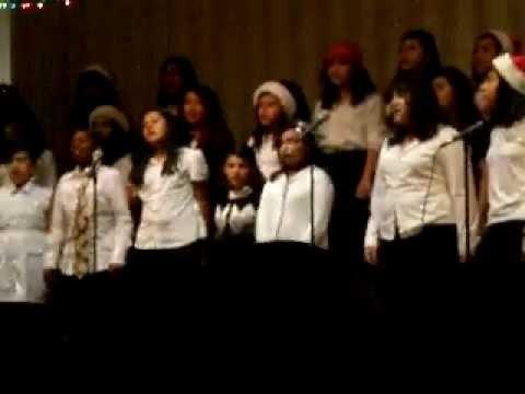 """grinch medley"" - paramount park middle school choir"