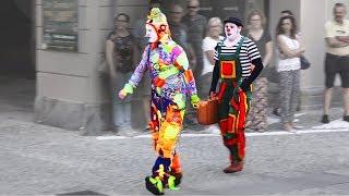 Karcocha & Lois - awesome street artist at Mirabilia Fossano (CN) Italy