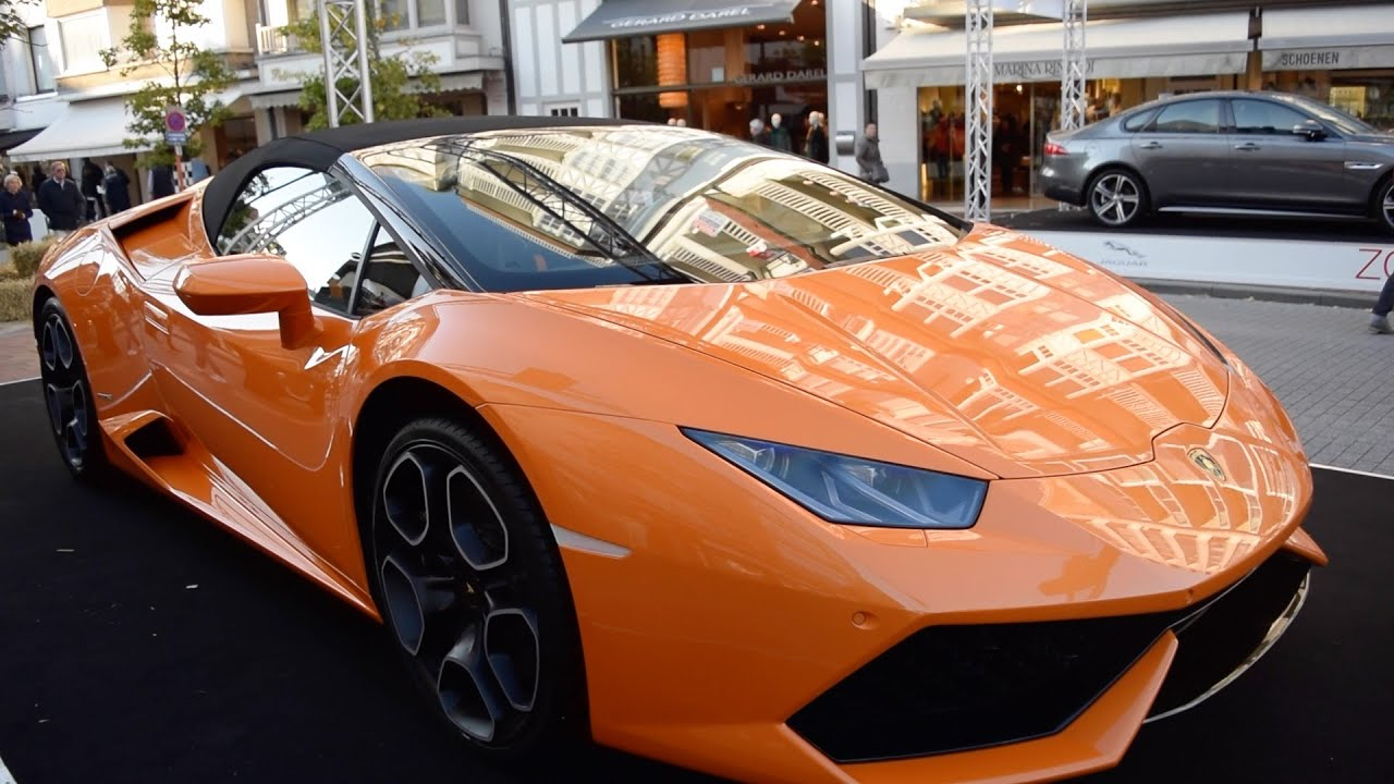 New Lamborghini Huracán Roadster - Overview - YouTube