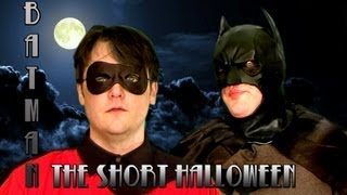 BATMAN: THE SHORT HALLOWEEN | Original Skit | MALADJUSTED.TV
