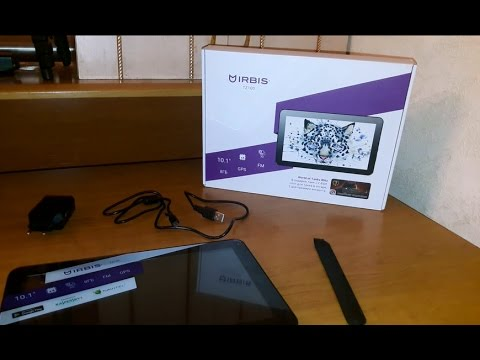 Не большой обман покупателей.  Новая модель планшета Irbis Tz100 8 Гб 3G.