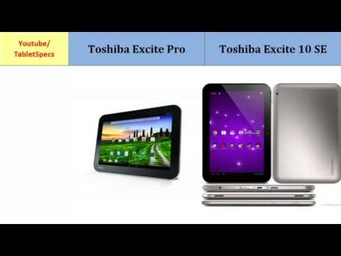 Toshiba Excite Pro OR Toshiba AT300SE, full specs comparison