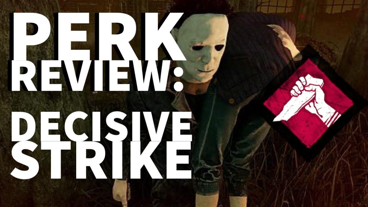 Download Dead by Daylight Survivor Perk Review - Decisive Strike (Laurie Strode Perk)