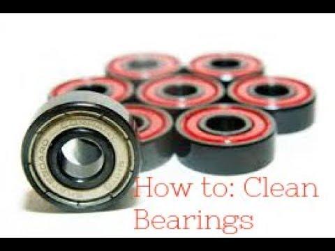 9Voltlongboarding|| How to clean longboard bearing's