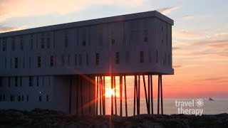 Jaw Dropping Fogo Island Inn! | TRAVEL THERAPY