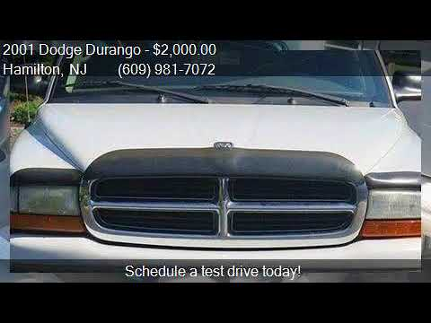 2001 Dodge Durango SLT 4WD 4dr SUV for sale in Hamilton, NJ